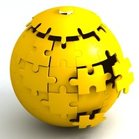 sphere jigsaw puzzle