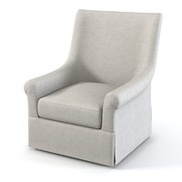 upholstered armchair chair 3d max