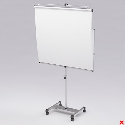 screen board 3d model