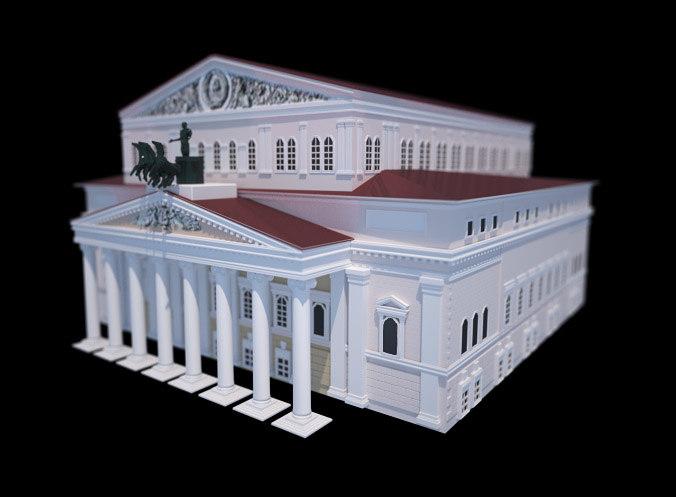 3d bolshoi theatre
