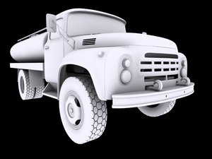 3ds max zil-130 truck
