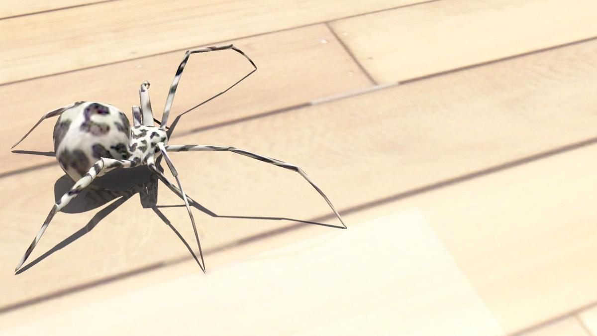 3d model spider