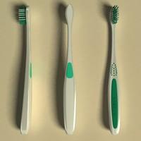 3d model of toothbrush wisdom
