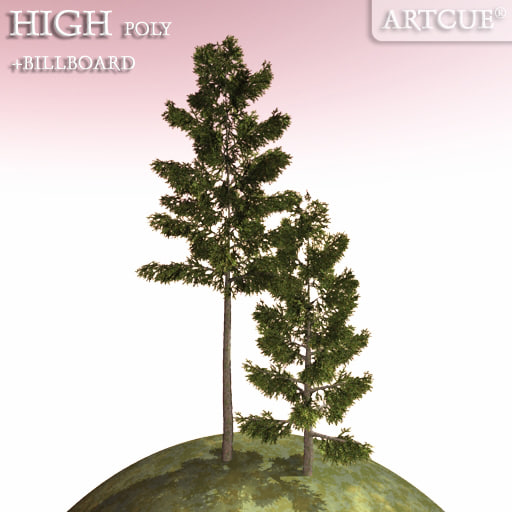 spruce tree 3d 3ds