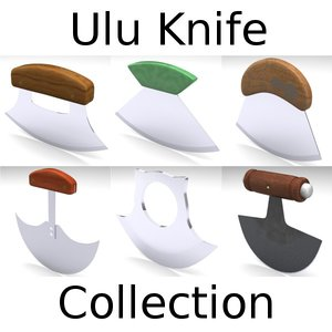 ulu knife dxf