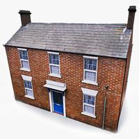 english house 002 3d model