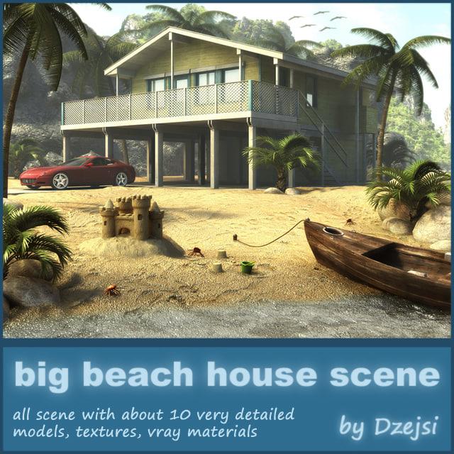 scene beach house car max