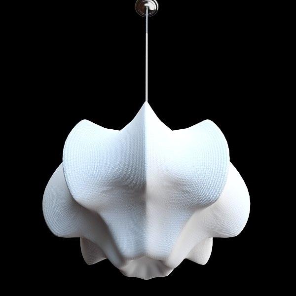 qualitative flos viscontea chandelier 3ds