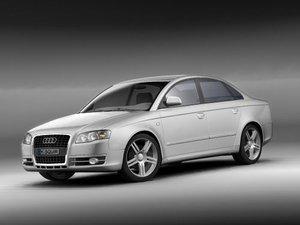 3d model audi a4 2005 sedan