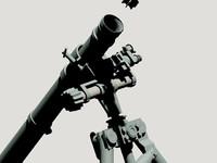 WWII German 8cm Schwere Granatwefer 34 Mortar