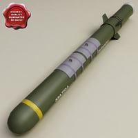 aircraft bomb blu-107 durandal 3d model