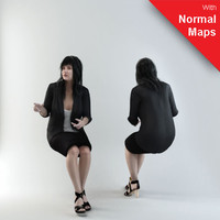 BWom0001-M3-S_Se/ 3D Human for superior visualizations