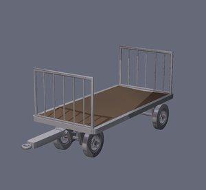 dxf baggage cart