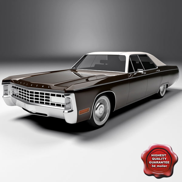 3d chrysler imperial le baron model