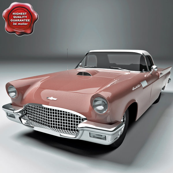 3d thunderbird 1957