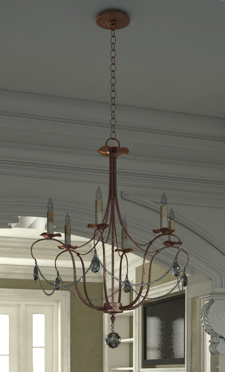 dining room chandelier max
