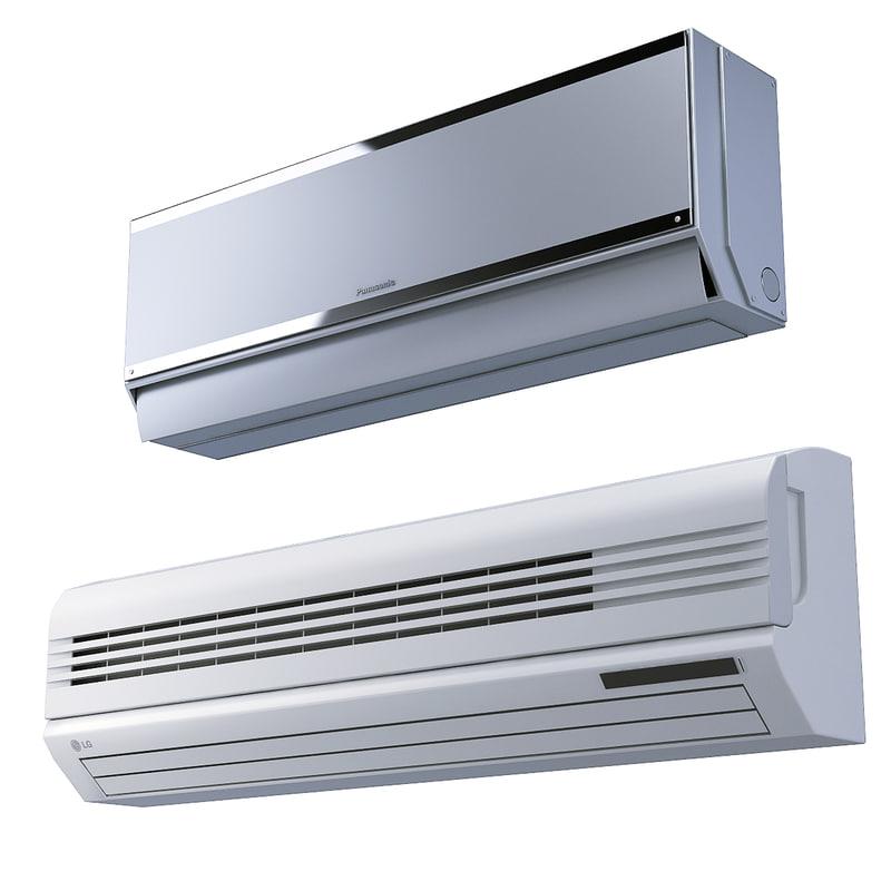 3d air conditioner lg panasonic model