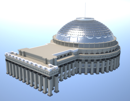 3d model novosibirsk theater