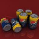 Pepsi Twist 3D models