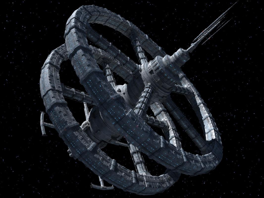 obj space station