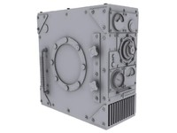 steam punk computer case 3d model
