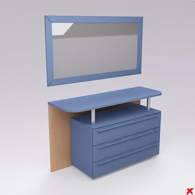 table dressing 3ds free