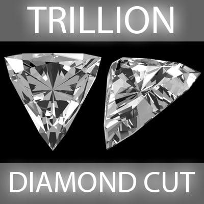 3d trillion diamond cut model