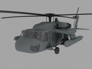 3ds uh-60 black hawk army