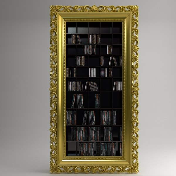 vismara cd-dvd shelves 3d model