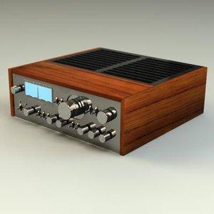 pioneer amplifier 3d x