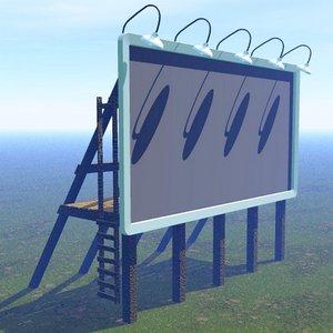 3d billboard lighting