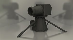 3ds max runescape dwarf cannon