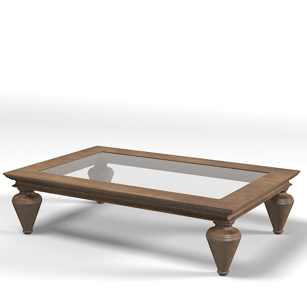 3d Ego Coffee Table Model