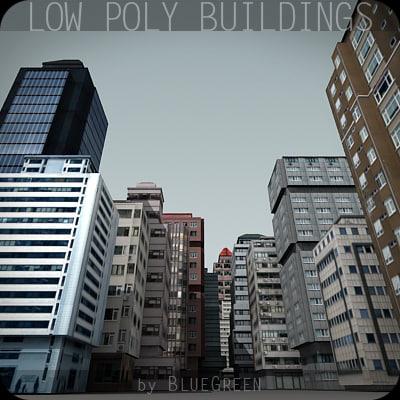 cityscape skyscraper building 3d 3ds