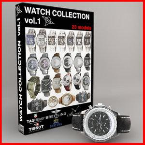3d model watch vol 1