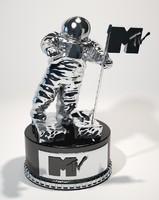 3d model mtv award television