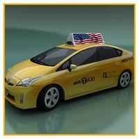 Prius hybrid NY taxi