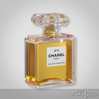 perfume n5 3d model