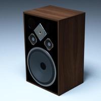3d 3ds stereo speaker