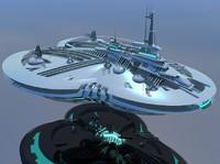 maya tripod starship