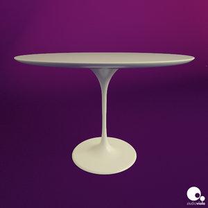 table tulip 3d model