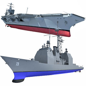 navy carrier ship max