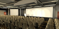 3d model event ball room