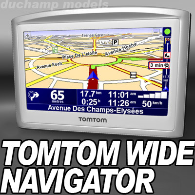 tomtom navigator widescreen 3d 3ds
