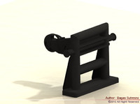 3d towing hook model