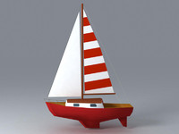 ready sailboat 3d 3ds