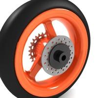 bikes wheel 3ds