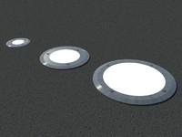 Floor recessed lights