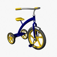 3d kids bicycle