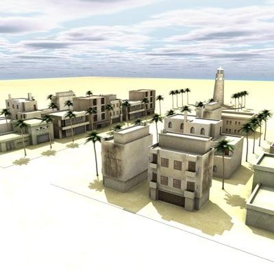 arabcity city 3d model